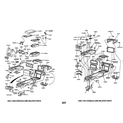 mustang fox body exploded view illustrated parts manual (79-93) mp0024  late model restoration