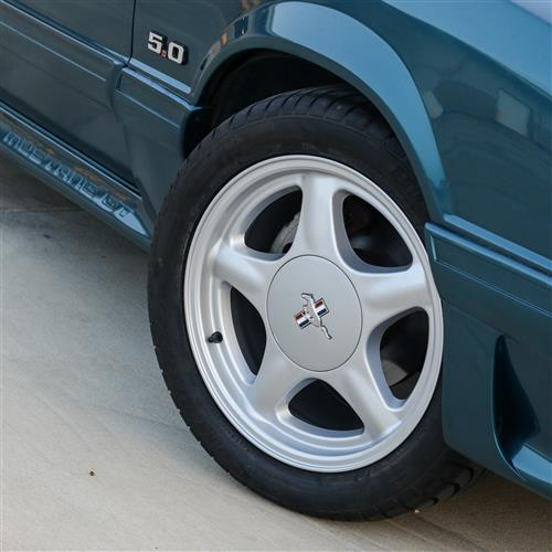 1979-93 Silver Pony Wheel and