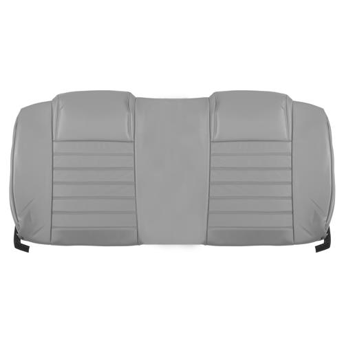 Katzkin Mustang Factory Style Leather Seat Upholstery  - W/ Side-Impact Airbag - Light Graphite (05-09) - Convertible
