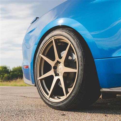 SVE Mustang XS7 Wheel Kit - 20x10  - Ceramic Bronze (15-20)