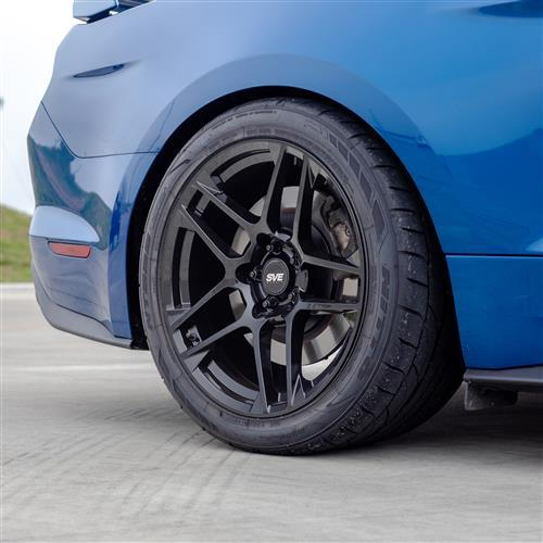SVE Mustang X500 Wheel Kit - 19x10/11  - Gloss Black (15-20)