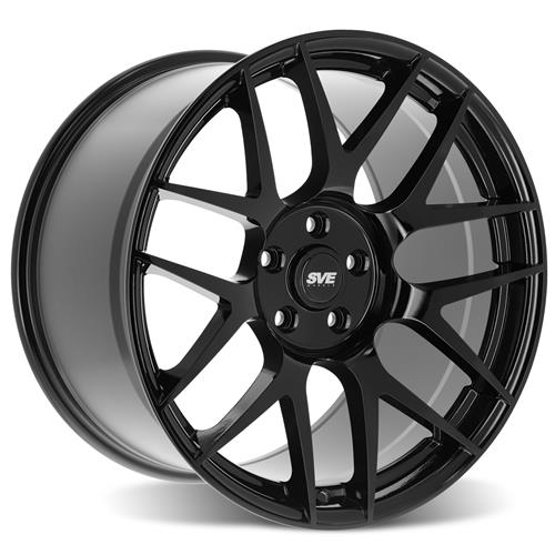 SVE Mustang R357 Wheel Kit - 19x10/11  - Gloss Black (15-20)
