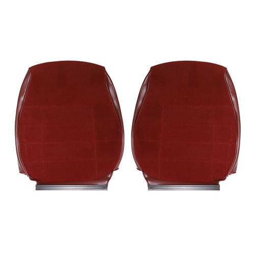 TMI Mustang Standard Seat Upholstery - Cloth  - Ruby Red (1993) Coupe 43-73293-6795-59-59