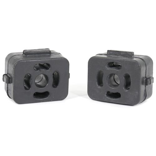 99-04 MUSTANG REAR TAIL PIPE HANGER RUBBER INSULATOR PAIR