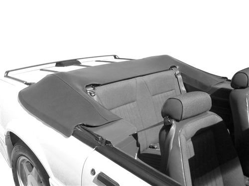 Mustang Convertible Top Boot Smoke Gray (87-89)