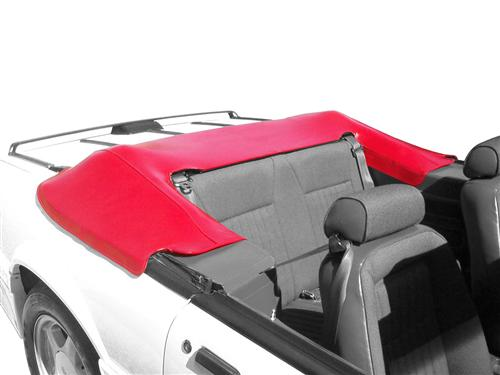 Picture Of Mustang Convertible Top Boot Scarlet Red 87 89