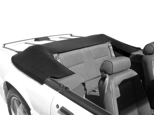 Picture of Mustang Convertible Top Boot Black (90-93)