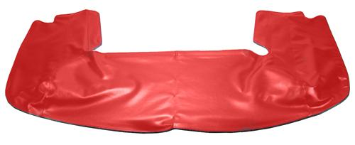 Mustang Acme Convertible Top Boot Scarlet Red/ Ruby Red (90-93)