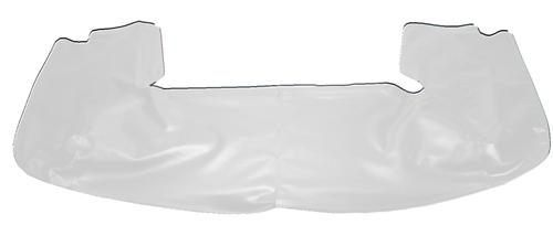 TMI Mustang Convertible Top Boot Oxford White (90-93) 22-7400-997
