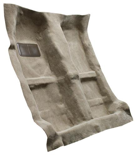 Mustang  Floor Carpet for Coupe & Convertible Camel Tan  (05-09)