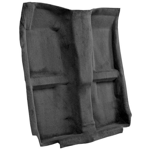 Mustang Mass Back Floor Carpet  - Dark Charcoal (10-14) 23098-912