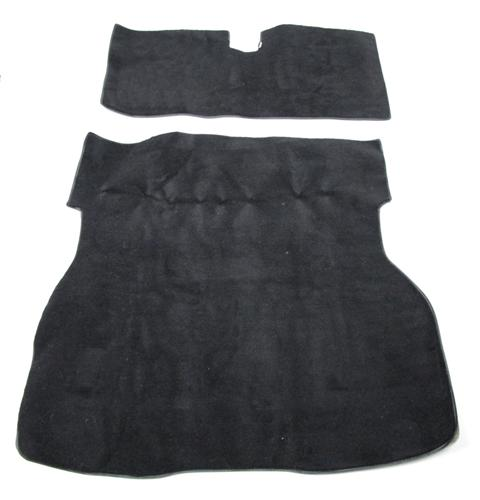 Picture of Mustang Hatch Area Carpet Black (79-83)