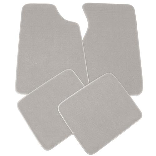 Mustang Floor Mats  Light Gray  (85-86) 8886-852