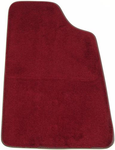 Mustang Floor Mats Ruby Red  (93-93) 8886-825