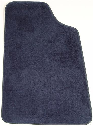 Mustang Floor Mats Regatta/Royal Blue  (85-93) 8886-9304