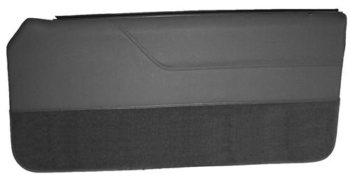Mustang Lower Door Panel Carpet  Dark Gray/SVO Gray (84-86) 15103-807