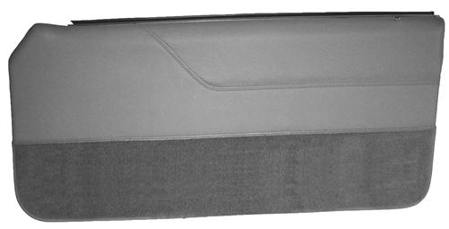 Mustang Lower Door Panel Carpet Light Gray (85-86) 15103-852