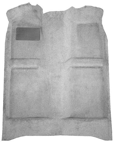 Picture of Mustang Floor Carpet Light Gray (85-86) Coupe  Hatchback