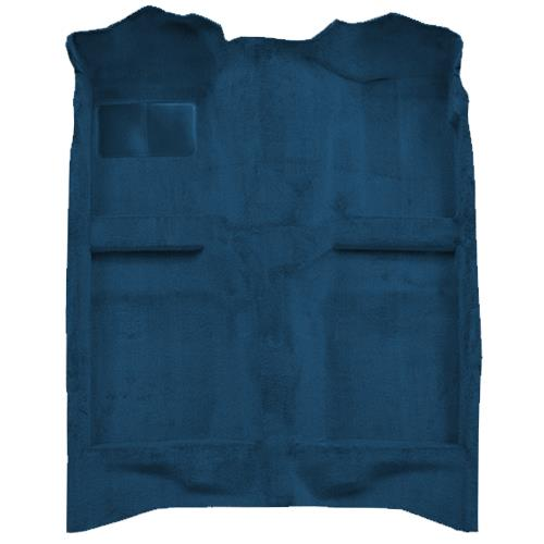 Mustang Floor Carpet  Regatta Blue/Royal Blue (85-93) Coupe Hatchback 3296-9304