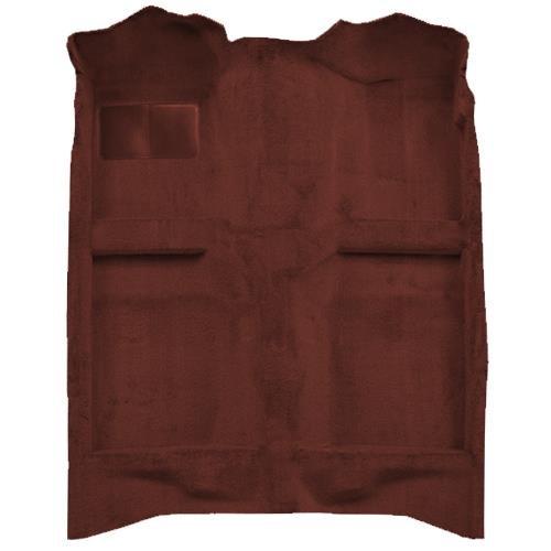 Mustang Floor Carpet Canyon Red (84-86) Convertible 3297-7298
