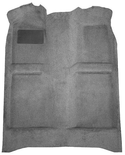 Mustang Floor Carpet  Dark Gray/Smoke Gray (84-89) Convertible
