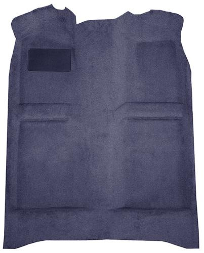 Mustang Floor Carpet  Medium Blue/Academy Blue (83-84) Convertible