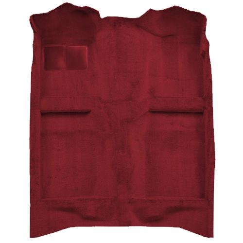 Mustang Floor Carpet  Ruby Red (93-93) Convertible 3297-825