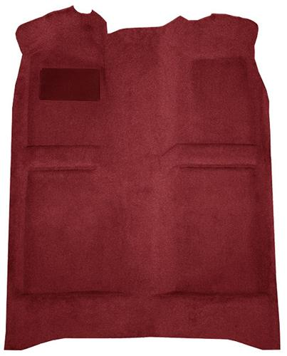 Mustang Floor Carpet  Ruby Red (93-93) Convertible