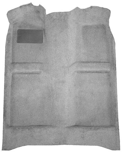 Picture of Mustang Floor Carpet  Opal Gray (93-93) Convertible