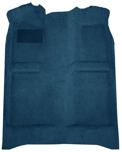 Mustang Floor Carpet Regatta Blue/Royal Blue. (85-93) Convertible
