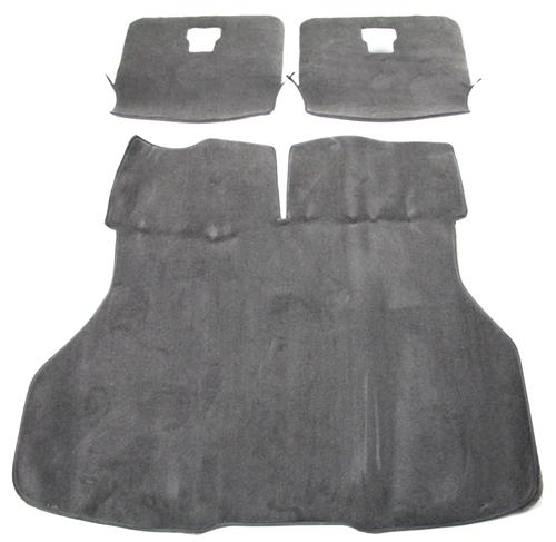 Picture of Mustang Hatch Area Carpet Smoke Gray (87-89)