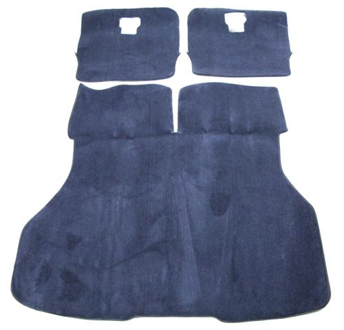 Mustang Hatch Area Carpet Regatta Blue/Royal Blue (87-93)