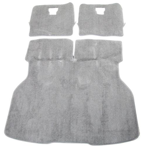 Mustang Hatch Area Carpet Titanium Gray (90-92)