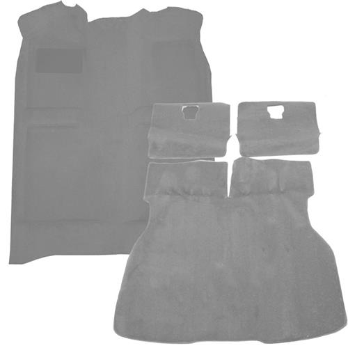 Mustang Floor Carpet & Hatch Carpet Kit Titanium Gray (90-92)