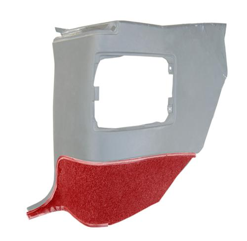 Mustang Quarter Trim Carpet for Convertible Scarlet Red (90-92)