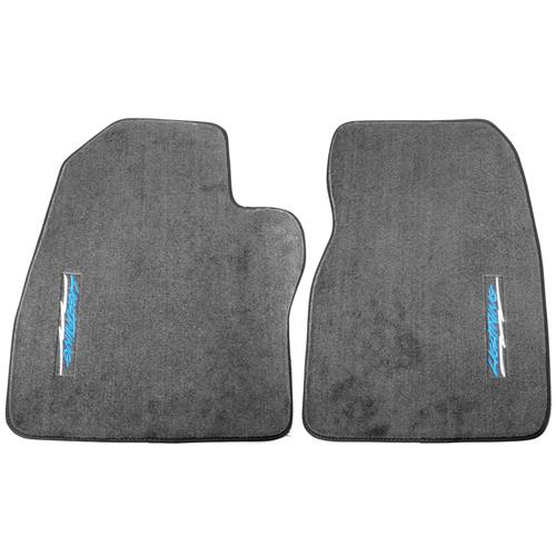 ACC F-150 SVT Lightning Vertical Lightning Logo Floor Mats  - Dark Gray (1993) 9036-807-322