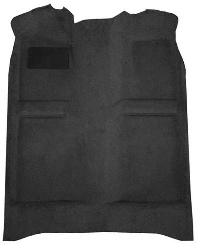 82-93 CARPET, MASS BACK, COUPE/HATCHBACK, CHARCOAL - 897 - MUSTANG