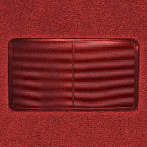 ACC Mustang Floor Carpet w/ Mass Back Medium Red/Scarlet Red (82-92) Coupe/Hatchback 3296-815 MASS BACK