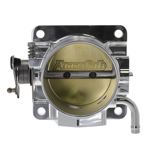 Accufab Mustang 70mm Throttle Body & Egr Spacer Polished  (86-93) 5.0 70K