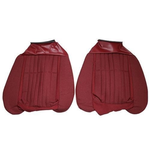 Acme Mustang Sport Seat Upholstery Red Cloth (87-89) Convertible