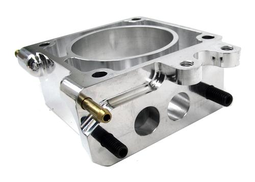 Accufab Mustang 70mm Throttle Body & Egr Spacer Polished  (86-93) 5.0L 70K