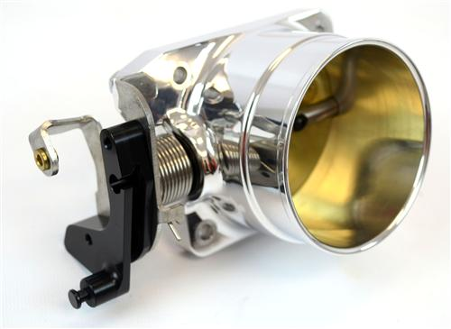 Accufab Mustang 75mm Throttle Body  Polished (96-04) GT 4.6L F7546