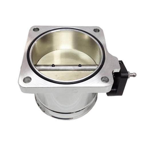 Accufab Mustang 90mm Throttle Body Polished  (86-93) 5.0