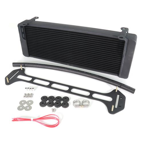 Afco F-150 SVT Lightning Dual Pass Heat Exchanger  - Black (99-04) 80249NB