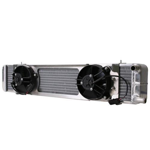 Afco Mustang Dual Pass Heat Exchanger w/ Fans (03-04) Cobra 80275PRO - Afco Mustang Dual Pass Heat Exchanger w/ Fans (03-04) Cobra 80275PRO