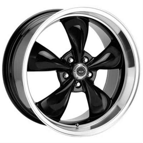 American Racing Mustang Torq Thrust M Wheel Black (05-14)