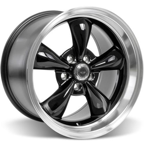 American Racing Mustang Torque Thrust M Wheel  - 17x10.5 Black (94-04)