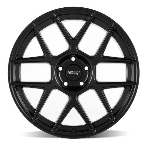 American Racing Mustang Apex Wheel - 20x10  - Satin Black (05-17) AR91321012740