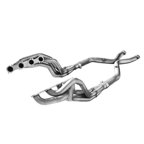 "Mustang American Racing Headers 1 3/4"" Long Tube System w/ Off-Road X-Pipe (99-04)"