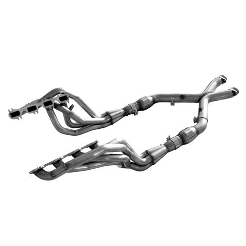 "Mustang American Racing Headers 1 3/4"" Long Tube System w/ Cats (99-04)"